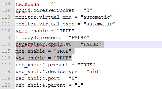 vmx to enable hyperv