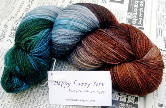 happy fuzzy yarn