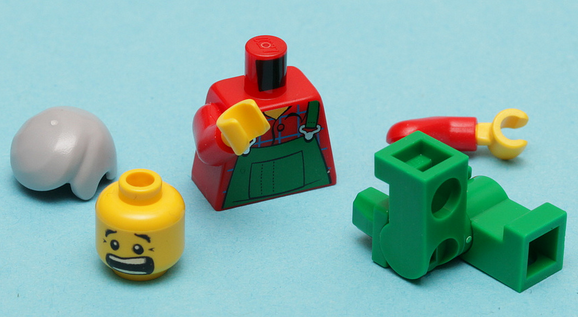 lego - take them apart