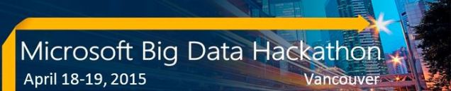 Microsoft Big Data Hackathon April2015