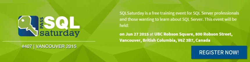 SQLSaturday #407